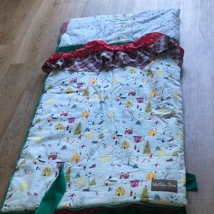 "Other - Matilda Jane ""Christmas "" theme sleeping bag🌺"